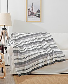 "Meadow 50"" x 60"" Woven Throw Blanket"
