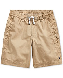 Little Boys Cotton Twill Shorts