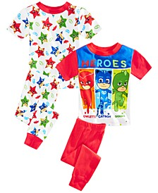 Toddler Boys 4-Pc. PJ Masks Pajama Set
