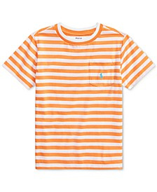 Toddler Boys Striped Cotton-Blend T-Shirt
