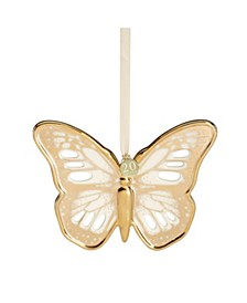 Butterfly Meadow Gold - 20th Anniversary Golden Butterfly Ornament,  Macy's Exclusive