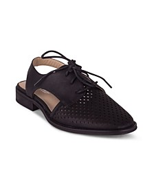 KOI Women's Perforated Detail Two Piece Oxford