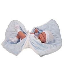 """17"""" Newborn Carlo Manta Boy Doll"""