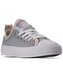 Girls Chuck Taylor All Star Floral Casual Sneakers from Finish Line
