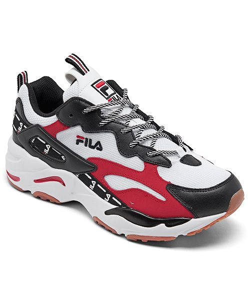 Fila Men's Ray Tracer Tarvos Casual Sneakers from Finish Line
