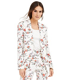 INC Floral-Print Blazer, Created for Macy's