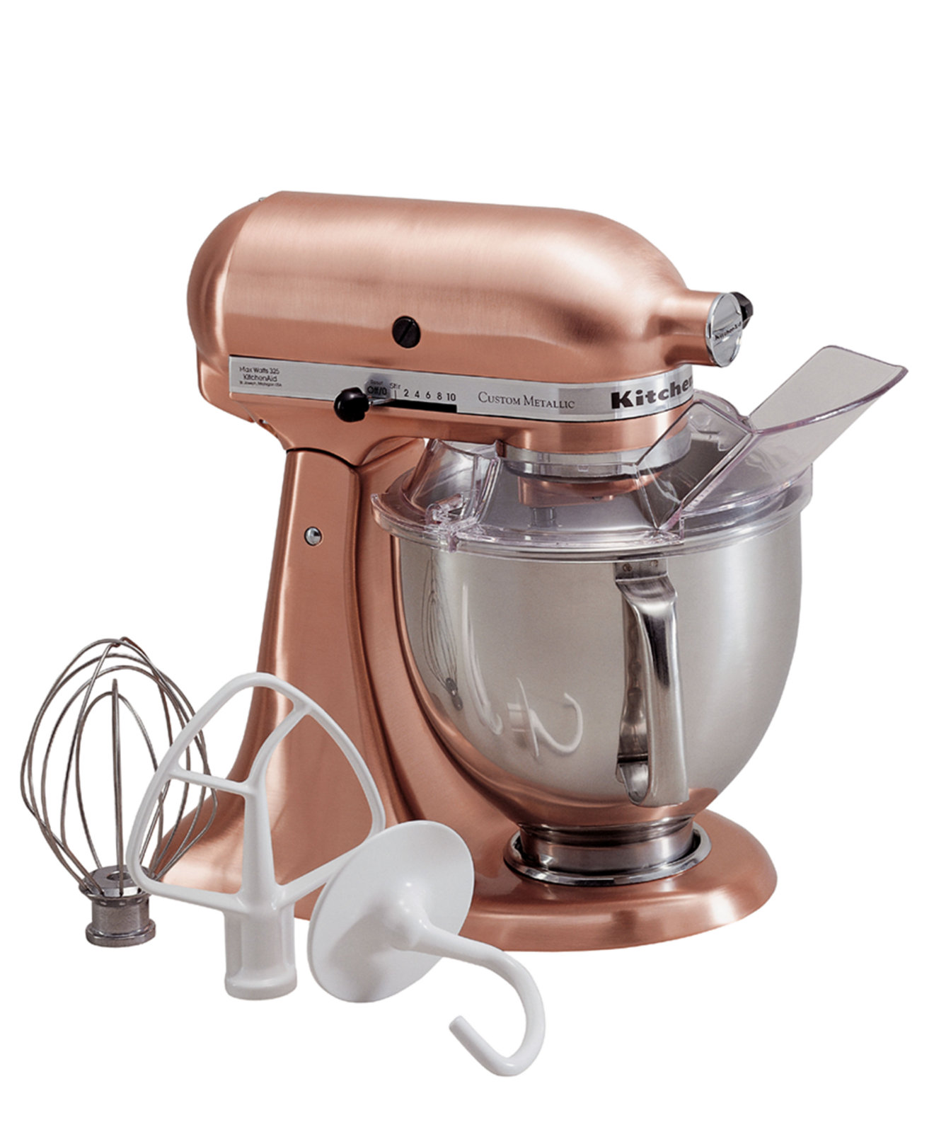 Kitchenaid pink food processor - Kitchenaid Ksm152ps Artisan 5 Qt Custom Metallic Stand Mixer Electrics Kitchen Macy S Bridal And Wedding Registry