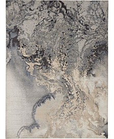 "Samuel SAM08 Gray 9'3"" x 12'9"" Area Rug"