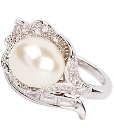 Grace Kelly Collection Rhodium Plated Wedding Ring