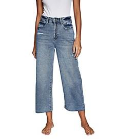 Wide Leg Cropped Jean