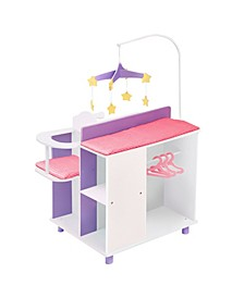 Little Princess Baby Doll Changing Station with Storage