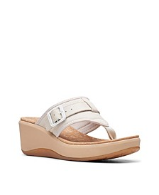 Cloudsteppers Women's Step Cali Sail Wedge Sandals