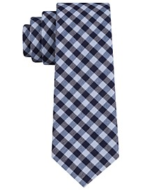 Men's Two-Color Gingham Tie