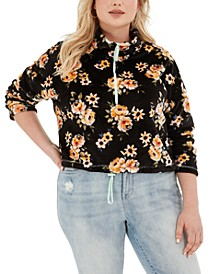 Trendy Plus Size Bungee-Hem Sweater