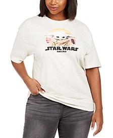 Trendy Plus Size Star Wars Baby Yoda Graphic T-Shirt