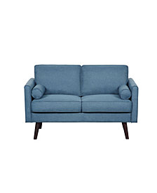 US Pride Furniture Karole Fabric Loveseat