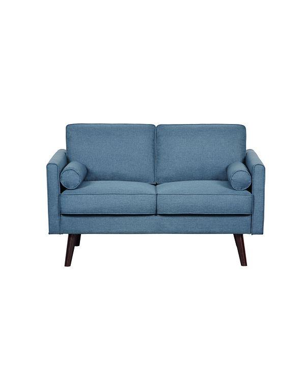 Us Pride Furniture Karole Fabric Loveseat