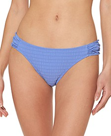 Smocked Hipster Bikini Bottoms