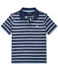 Toddler Boys Performance Stretch Lisle Polo