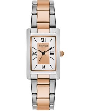 Women's Two-Tone Stainless Steel Bracelet Watch 21x33mm