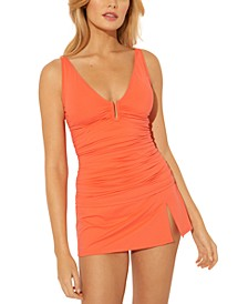 U-Wire Tankini Top & Swim Skirt