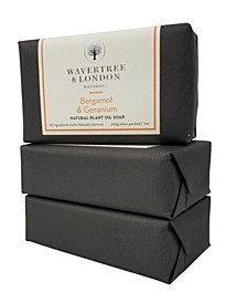 Naturals Bergamot and Geranium Soap with Pack of 3, Each 7 oz