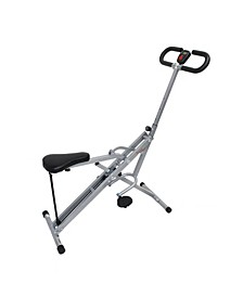 Upright Row-N-Ride Exerciser