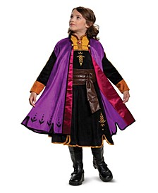 Big Girl Frozen 2 - Anna Prestige Child Costume