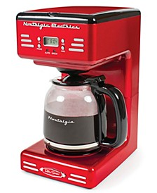 RCOF120RR Retro Series 12-Cup Programmable Coffee Maker
