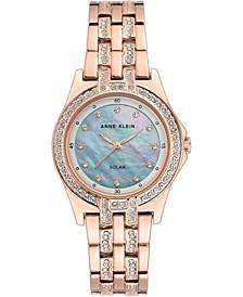 Women's Considered Solar Powered Rose Gold-Tone Bracelet Watch 31.5mm