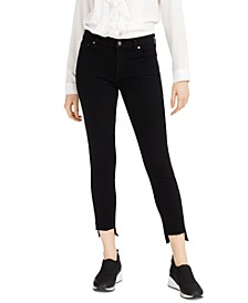 Ankle Skinny with Step Hem Jeans