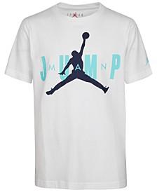 Big Boys MJ Jumpman Cotton T-Shirt