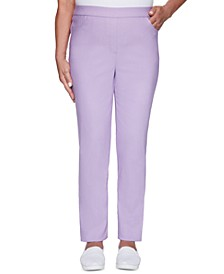 Classics Allure Pull-On Slim-Leg Pants