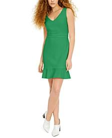 Flounce-Hem Sheath Dress, Created for Macy's