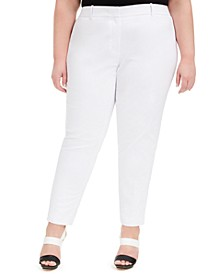 Plus Size Slim Dress Pants