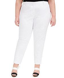 Calvin Klein Plus Size Slim Dress Pants