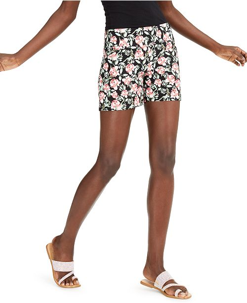 INC International Concepts INC Floral Shorts, Created for Macy's