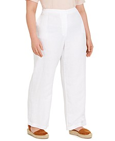 Plus Size Organic Pull-On Pants