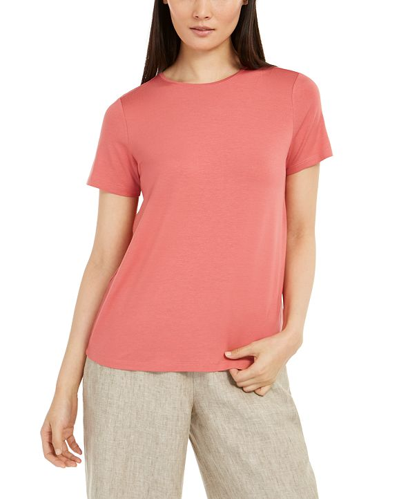 Eileen Fisher Round Neckline T-Shirt