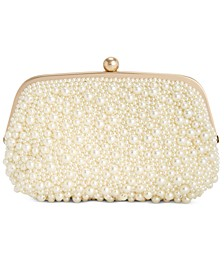 INC All Over Pearl Pouch Clutch, Created for Macy's