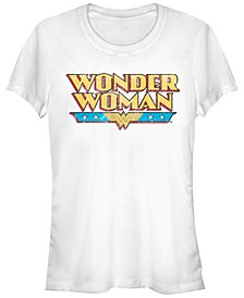 DC Wonder Woman Retro Logo Women's Short Sleeve T-Shirt