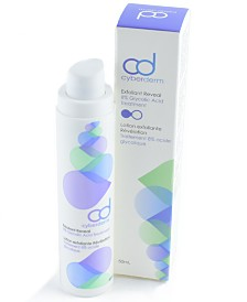 Cyberderm Exfoliant Reveal- AHA Facial Exfoliant, 1.7 Oz