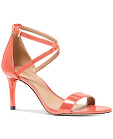 Ava Mid-Heel Dress Sandals