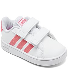 Toddler Girls' Grand Court Casual Sneakers from Finish Line