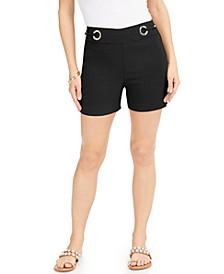 Embellished Pull-On Shorts