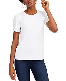 Puff-Sleeve T-Shirt