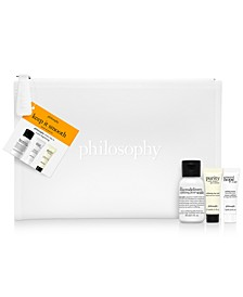 Macy's Exclusive! Receive a Free 3pc Cleanse, Extract & Peel Gift + Bonus Bag with any $39 philosophy purchase ($11 Value!)