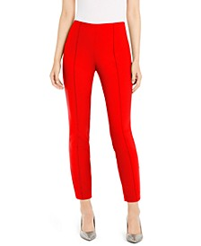 Seamed Skinny Pants