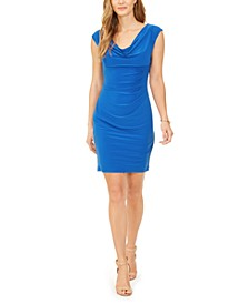 Valerie Cowlneck Sheath Dress