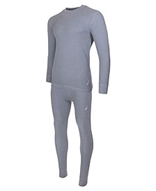 Men's 2 Piece Big and Tall Waffle Thermal Sets